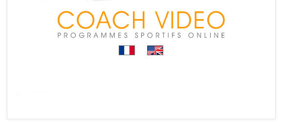 coach-video, choix des langues
